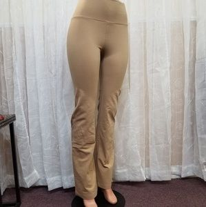 Pants - Beige Yoga Pants